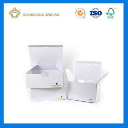 China Factory White Corrugated Mailing Box (with Custom Logo Printing)