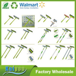 Wholesale Custom Wooden Plastic Aluminum Iron Handle with Mop Broom