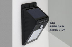 Wholesale Price Outdoor Solar Landscape Solar Garden Wall Light