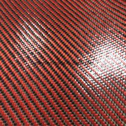 3K 200g TPU Coated Carbon Fiber Fabric