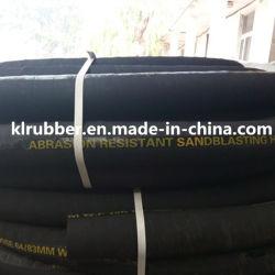SBR Abrasive Rubber Sandblast Hose with SGS Certification