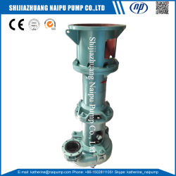 High Chrome and Natural Rubber Vertical Slurry Sump Pump