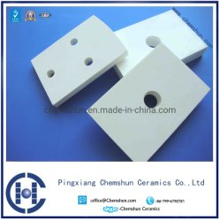 Curved Alumina Ceramic Weldable Tile for Wear Application