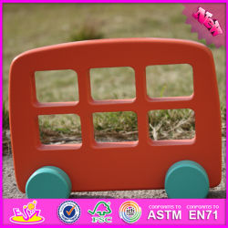 2016 Wholesale Baby Wooden Model Car, Funny Kids Wooden Model Car, Most Popular Children Wooden Model Car W04A259