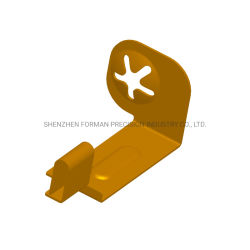 OEM Electronics Connector Plastic and Metal Fabrication High Performance Customized PA6t Automotive Spare Parts