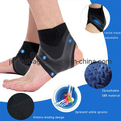 Sport Injury Recovery Adjustable Ankle Brace Wrap Support