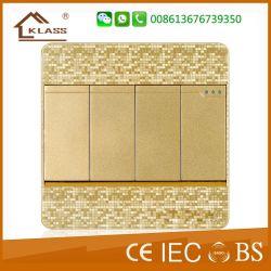 Cheap Wholesale PC Material Home Wall Socket Double Tel Socket