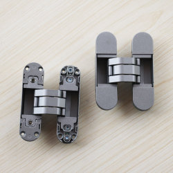 180 Degree Opening Angle Hinge 3D Adjustable Invisible Door Hinges  Manufacturer