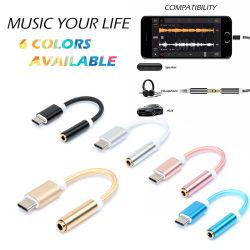 Type-C USB to 3.5mm Audio Adapter for HTC  Google Huawei Xiaomi