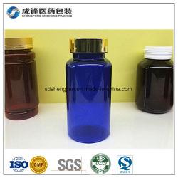 Wholesale Blue Pet 250ml Plastic Bottle for Vitamin