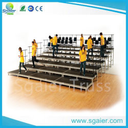 Multipurpose Movable Stable Grandstand Aluminum Bleachers Seating