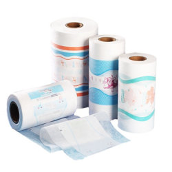Wholesale High Quality Printed Disposable Plastic Baby Diaper Backsheet Breathable PE Film