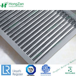 China Corrugated Aluminum Sandwich Panel Corrugated
