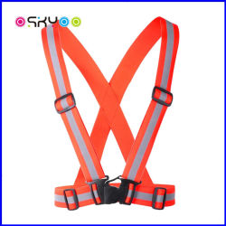 High Visibility Outdoor Sports Traffic Lightweight Reflective Safety Clothing