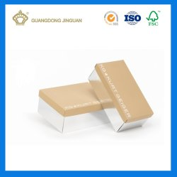 Kraft Paper Shoe Box (with custom design printing)