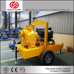 Mining Water Pump Dewatering Mining Slurry Pump Sewage Pump with Diesel Engine