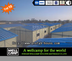 Two Floor Mobile Modular Prefabricated House Labor Camp Accomodation in Thailand Project