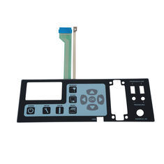 Rich Color Rubber Membrane Panel Switch with Two Key PCB Curent Board