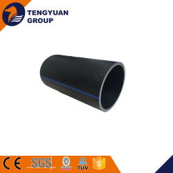 225mm Reinforced Pipe PE100 Grade Polyethylene HDPE Pipe Pn10 for Slurry
