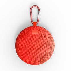 Circular Mini Outdoor Pendant Portable Bluetooth Speakers 2017 Waterproof Speaker