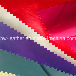 Garment PU Leather for Women's Jacket Hw-625