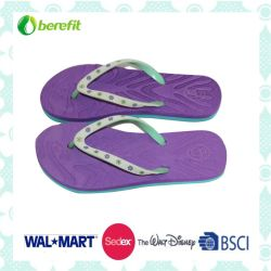 4286fb315 Embossed PE Sole and PVC Straps. Flip Flops