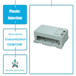 Customized Plastic Injection Moulding Products Electronic Office Equipment Plastic Cover