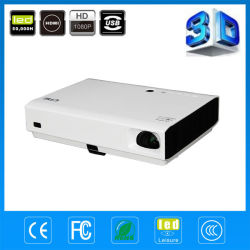 Latest Product! ! ! Full HD High Brightness School Business Multimedia Mini 3D Laser Projector
