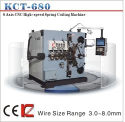 3-8mm CNC Compression Spring Coiling Machine