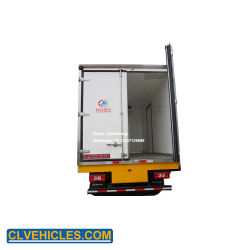 Foton 8 Tons Cold Van Truck with Trail Plank for Ice Cream Transport