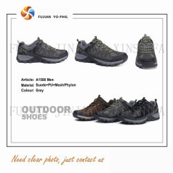 3 Colors Sports Suede Leather Safety Waterproof Hiking Trekking Outdoor Work Shoes Footwear Boots