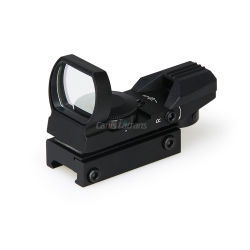Airsoft Gun 4 Reticles Red DOT Scope Sight