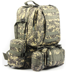Quality 50L Backpacks Molle Assault Tactical Outdoor Military Rucksacks