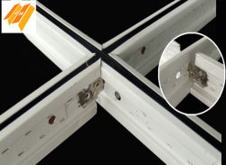Silhouette Black Drop Suspension Ceiling Keel System (Tee Gird W angle)