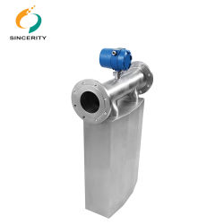 0.1% Precision 7 Days Quick Delivery Coriolis Mass Liquid Flow Meter for Limestone Slurry