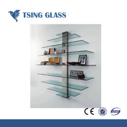 3-19mm (frosted) Glass Shelves for Bathroom with Ce & ISO9001