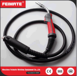 Factory Wholesale 24kd Red Handle MIG CO2 Welding Guns