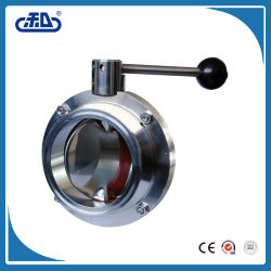 Worm Gearbox Operated Ductile Iron Replaceable Seat Butterfly Valve for Cement Price