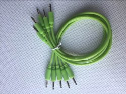 Glow in The Dark 3.5mm Mono Patch Cable