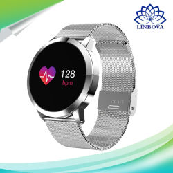 Q8 Touch Screen Smartwatch Heart Rate Monitor Smart Watch Sport Fitness Men Women Wearable Bracelet for Ios Android