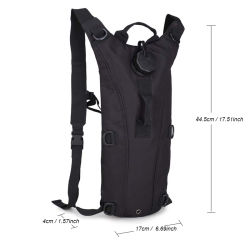Molle Military Tactical Hydration Backpack, 3L Water Bag