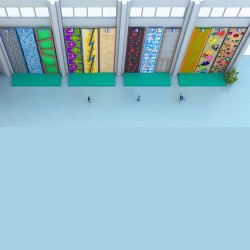 Climbing Wall Indoor Fiberglass Climbing Wall Panels