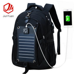32494c37e305 Junyuan Wholesale Solar Backpack Bag with USB Charger