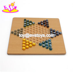 Best Sale Classical Checkers Wooden Marble Chess Set for Children W11A098