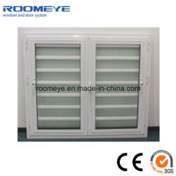 White Water-Proof Louver Window