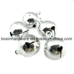 Silver Metal Small Christmas Bells
