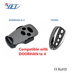 Good Doorhan Compatible Remote Control 433MHz Wireless Switch Garage Door Opener