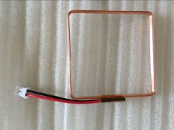 Copper RFID Card Antenna Reader Inductor Air Coil