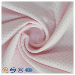 94%Polyester and 6%Spandex Jacquard Mesh Soft Fabric for Sportswear