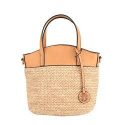 Pu Leather Wood Handles Bag Factory Fashion Designer Women Handbags